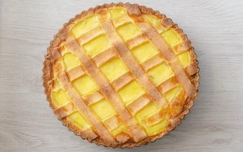 Preparazione Crostata alla crema e mele caramellate - Fase 5