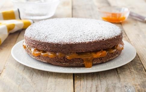 Preparazione Torta al cioccolato con marmellata d'albicocche - Fase 5