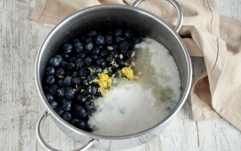 Preparazione Confettura di mirtilli - Fase 1