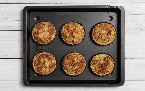 Preparazione Tartellette gratinate alle zucchine - Fase 4