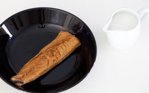 Preparazione Panino aringa e ravanelli - Fase 1