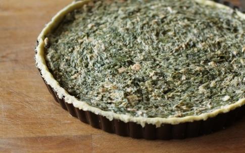 Preparazione Torta di spinaci al salmone - Fase 4