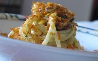 Spaghetti alle vongole veraci e bottarga di...