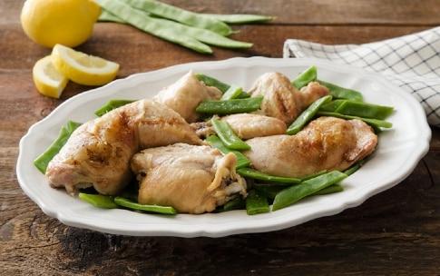 Preparazione Pollo al limone e taccole - Fase 3