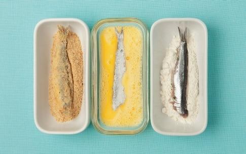 Preparazione Cotolette di sardine - Fase 2