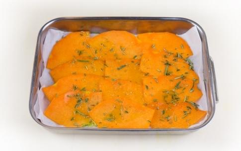 Preparazione Chips di zucca al rosmarino - Fase 2