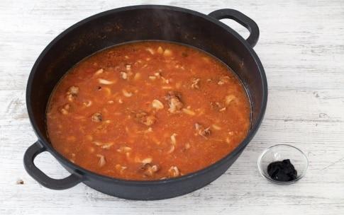 Preparazione Pasta al nero di seppia - Fase 2