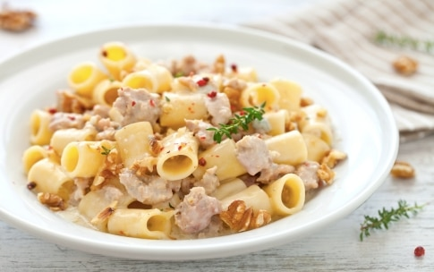 Preparazione Maccheroncini al gorgonzola - Fase 4