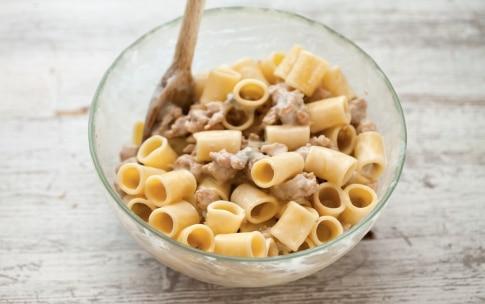 Preparazione Maccheroncini al gorgonzola - Fase 3
