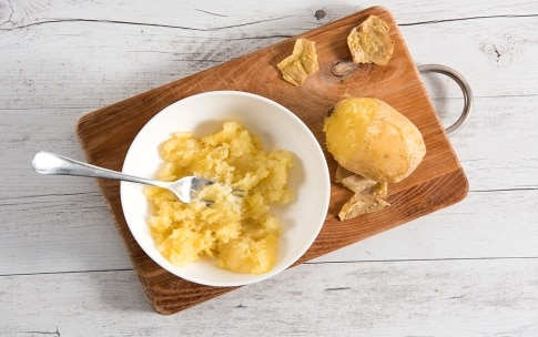 Preparazione Tortino di polenta e patate - Fase 1