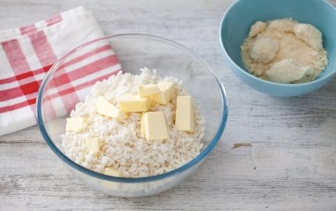 Preparazione Crostata di riso e asparagi - Fase 1