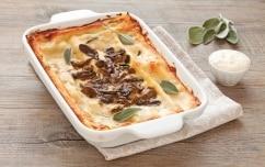 Preparazione Lasagne alla crema di grana e funghi - Fase 5