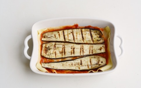 Preparazione Lasagne alle melanzane e ricotta - Fase 2