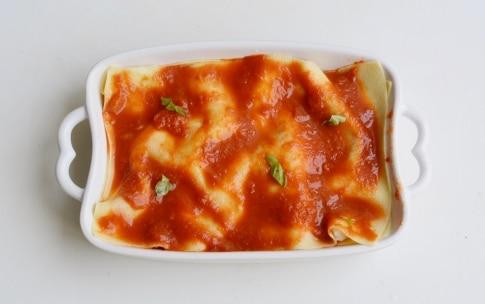 Preparazione Lasagne alle melanzane e ricotta - Fase 3