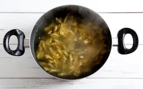 Preparazione Pasta con i carciofi - Fase 2