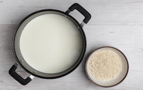 Preparazione Riso al latte - Fase 1
