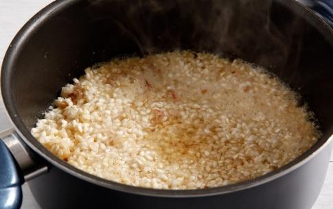 Preparazione Risotto al taleggio e profumo d'arancia - Fase 2