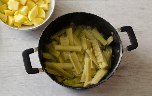 Preparazione Cardi e patate - Fase 1
