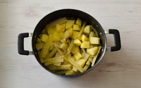 Preparazione Cardi e patate - Fase 2
