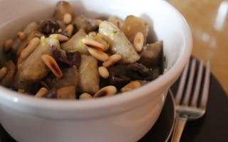 Gnocchetti di topinambur con olive...