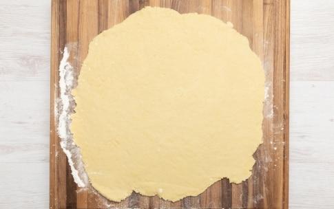 Preparazione Biscotti al latte - Fase 2
