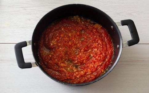 Preparazione Maltagliati pasticciati con ragù di lenticchie - Fase 1