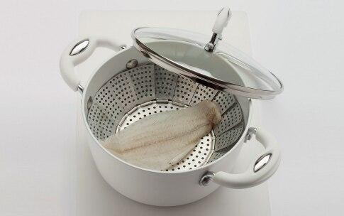 Preparazione Crema di patate, fagiolini e platessa - Fase 1