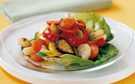 Insalata con verdure arrosto