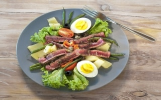Filetto di manzo in insalata francese