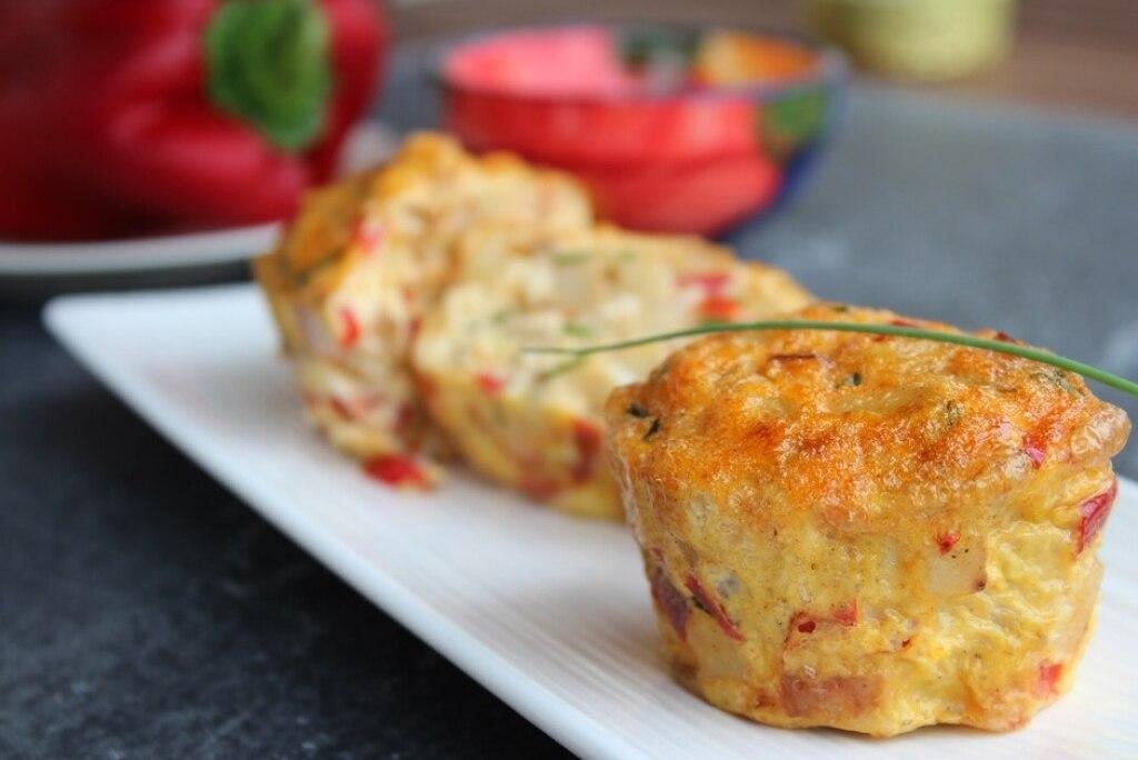 Frittatina patate e peperoni