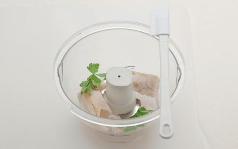 Preparazione Polpettine morbide di merluzzo in brodo vegetale - Fase 2