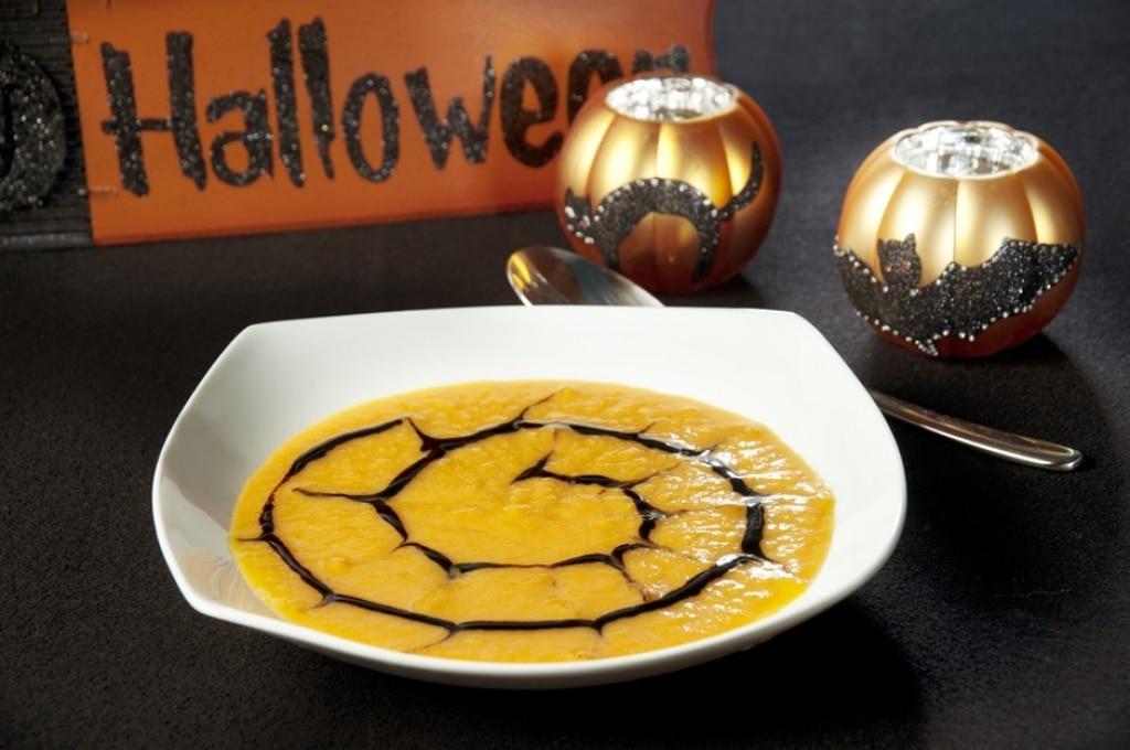Zucca cremosa di Halloween
