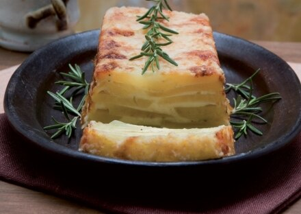 Sformato di patate e fontina