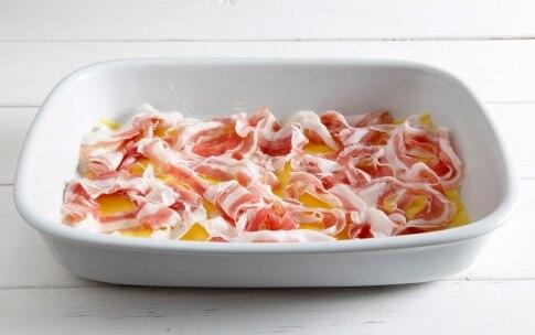 Preparazione Lasagne ai carciofi, taleggio e pancetta arrotolata - Fase 3