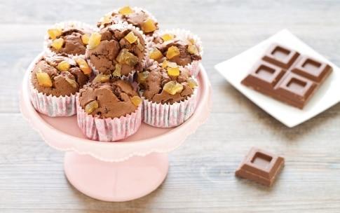 Preparazione Muffin al cioccolato al latte e zenzero - Fase 5