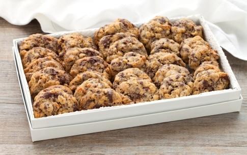 Preparazione Biscotti ai fiocchi d'avena con cioccolato e ananas - Fase 5