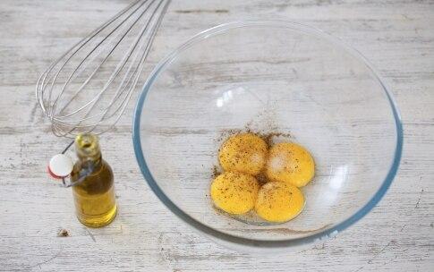 Preparazione Maccheroni e fagiolini con salsa maionese al curry - Fase 1