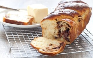 Pane dolce di patate al cioccolato