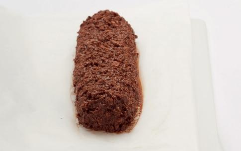 Preparazione Salame di cioccolato - Fase 3