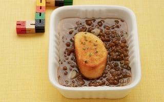 Zuppa di pane e lenticchie