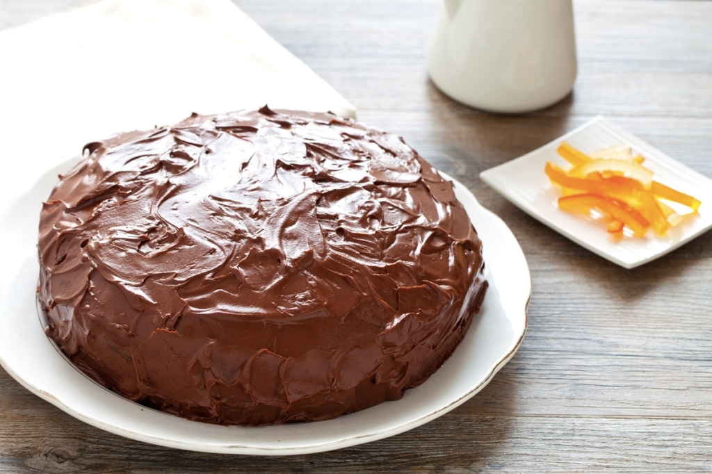 ricetta torta al cioccolato con crema di ricotta cucchiaio d 39 argento. Black Bedroom Furniture Sets. Home Design Ideas