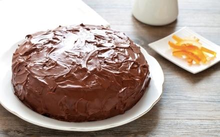 Torta al cioccolato con crema di ricotta