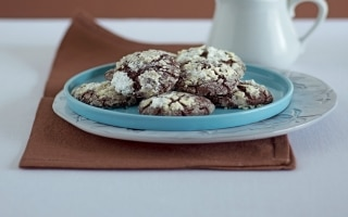 Biscotti di cioccolato al profumo di arancia