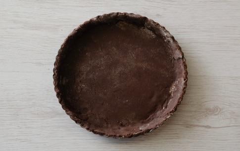 Preparazione Crostata al cacao con pere e crema di formaggio - Fase 3