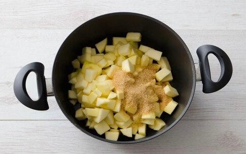 Preparazione Crostata caramellata di mele e arance - Fase 1