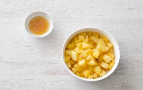Preparazione Crostata caramellata di mele e arance - Fase 2