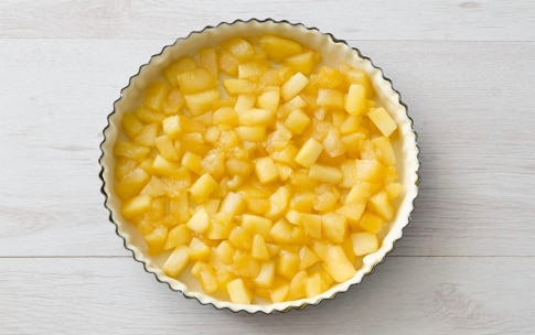 Preparazione Crostata caramellata di mele e arance - Fase 3