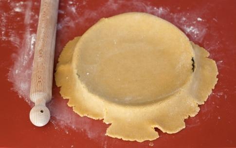 Preparazione Crostata di mele con crema - Fase 2
