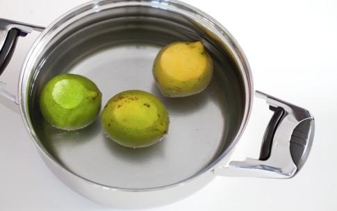 Preparazione Torta al limone e mandorle - Fase 1