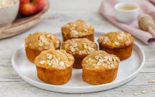 Muffin alle mele e noci